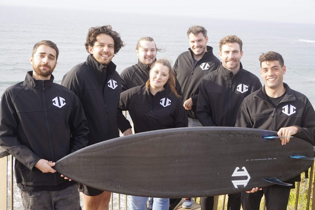 Recycled Carbon Fibre surf  board