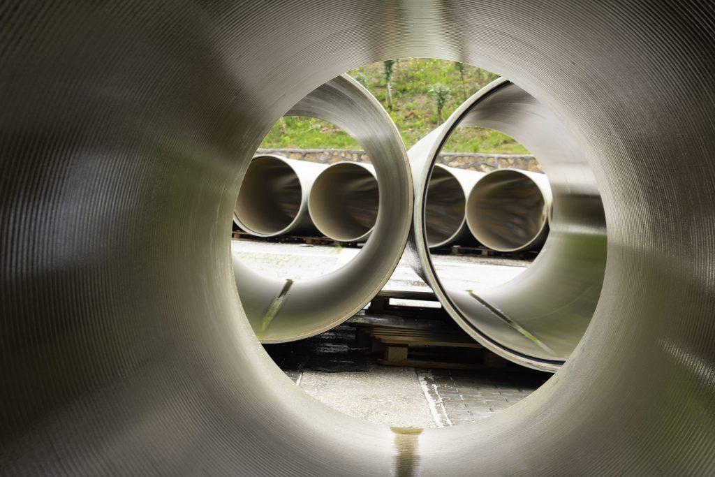Fibreglass pipes